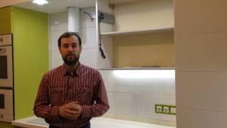 видео Ремонт кухни в квартире в Санкт-Петербурге