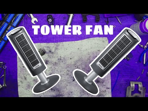 How to clean a tower fan