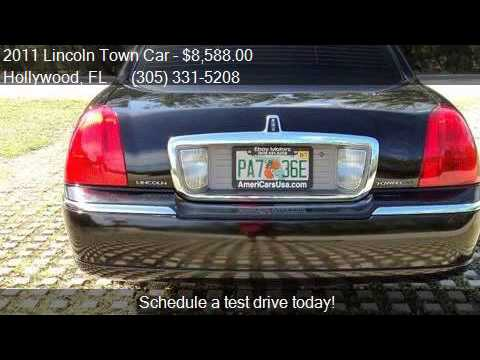 2011 Lincoln Town Car Signature L 4dr Sedan For Sale In Holl Youtube