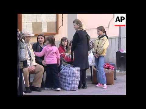 Transport ban from Tbilisi to Mosc, airport, Russian embassy, Saakashvili