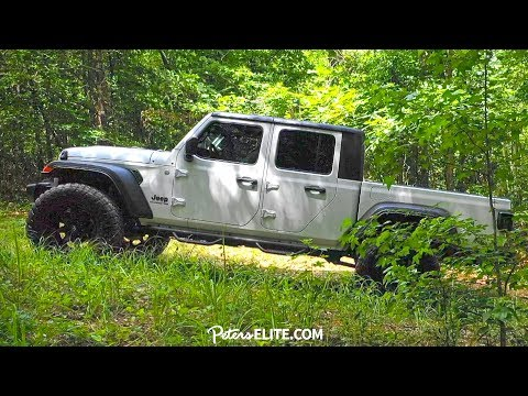 THE ALL-NEW 2020 JEEP GLADIATOR!!