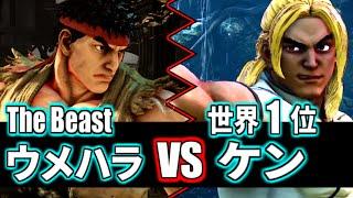 [スト5] ウメハラ・リュウ vs 世界1位ケン(kintyo-ru0211) [Daigo] thumbnail