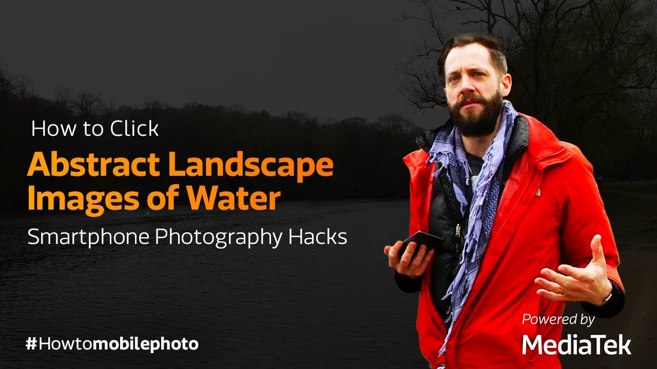 How to Click Abstract Landscape Images of Water | Smartphone Photography Hacks