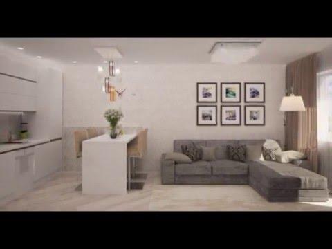 современный дизайн квартиры однокомнатной фото