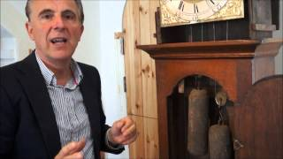How To Set Up An Antique Longcase Clock - Dials Antique Clocks, Lymington