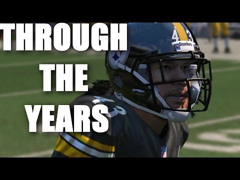 Troy Polamalu Through The Years NCAA Football 2002 - Madden 15