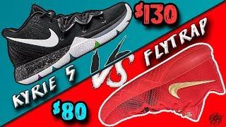 Nike Kyrie 5 vs BUDGET Kyrie Flytrap!