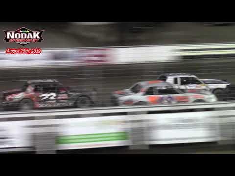 Nodak Speedway IMCA Hobby Stock A-Main (8/25/19)