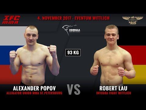 IFC 8 – Alexander Popov vs Robert Lau