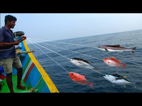 FISHING AT DEEP SEA