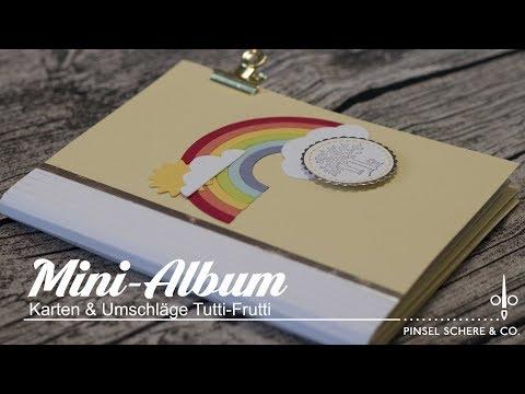 Mini-Album aus Karten & Umschläge Tutti Frutti   Scrapbooking   Bookbinding   Stampin' Up!