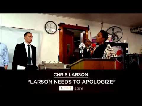 Lena Taylor fights back against Chris Larson