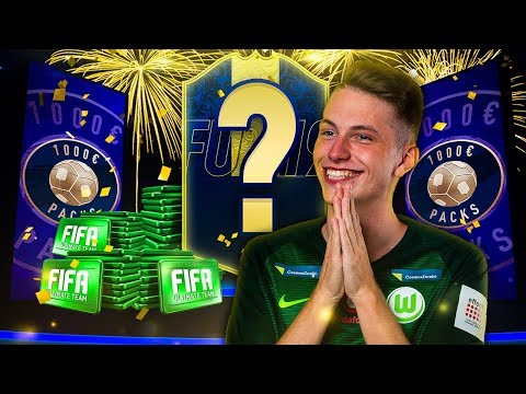 Fifa 19: BEST OF 1000€ TOTY PACK OPENING 🙏