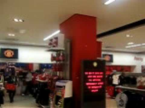Manchester United meaga store
