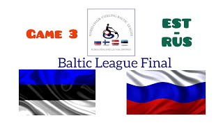 Baltic League FINAL. Game 3. EST-RUS