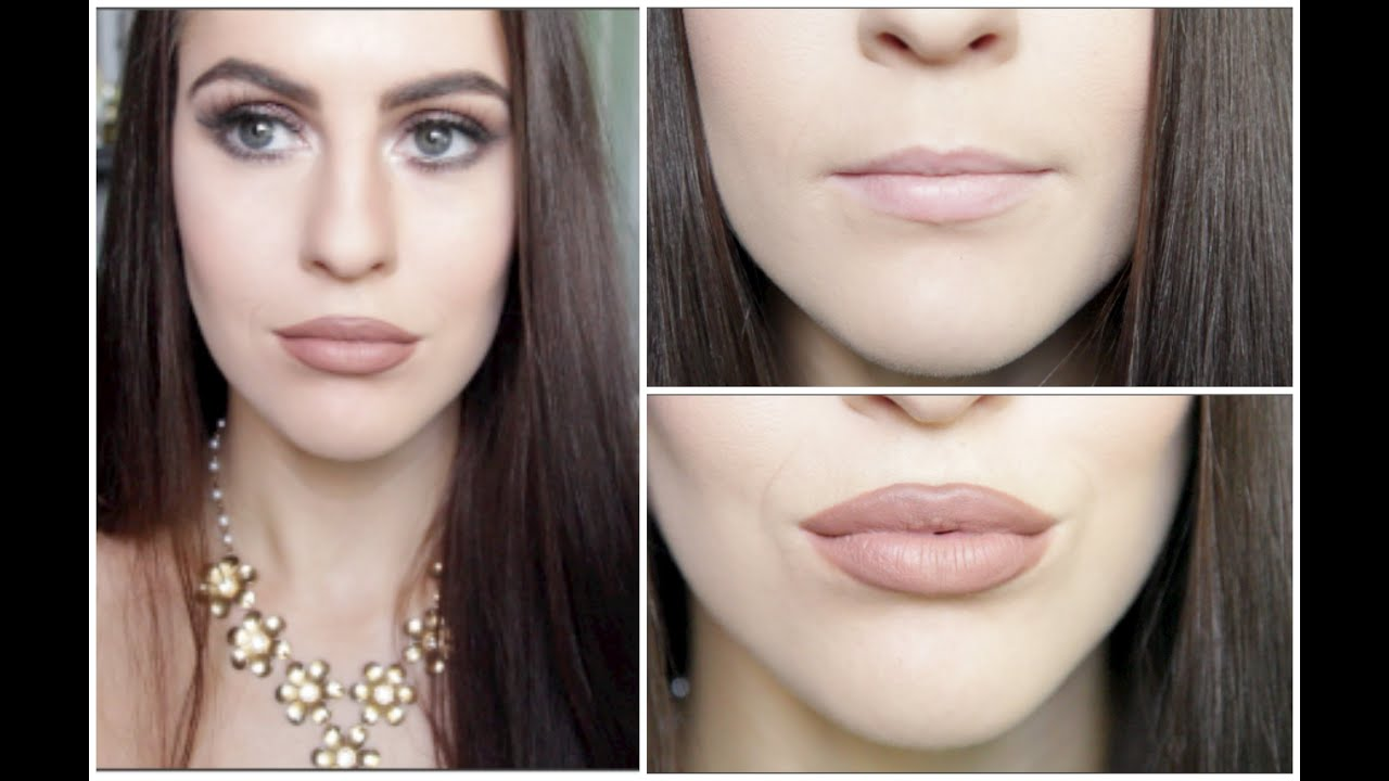How To Get Big Kylie Jenner Lips Makeup Tutorial Youtube