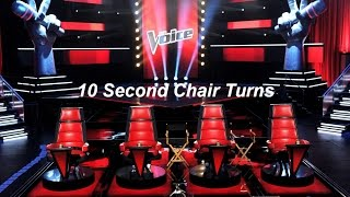 10 Second Chair Turns