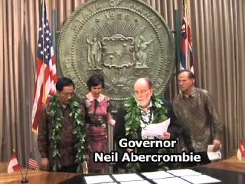 Sister-state agreement links Bali and Hawaii