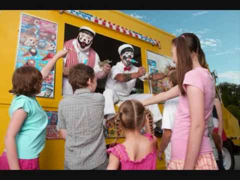 Insane Clown Posse cotton candy & popsicles