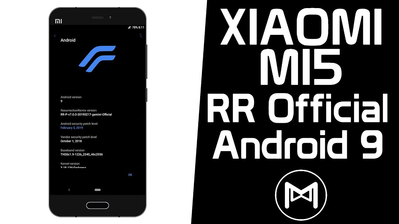 Xiaomi Mi5 | Resurrection Remix Pie v7 0 0 Official | Android 9 0 Pie ROM