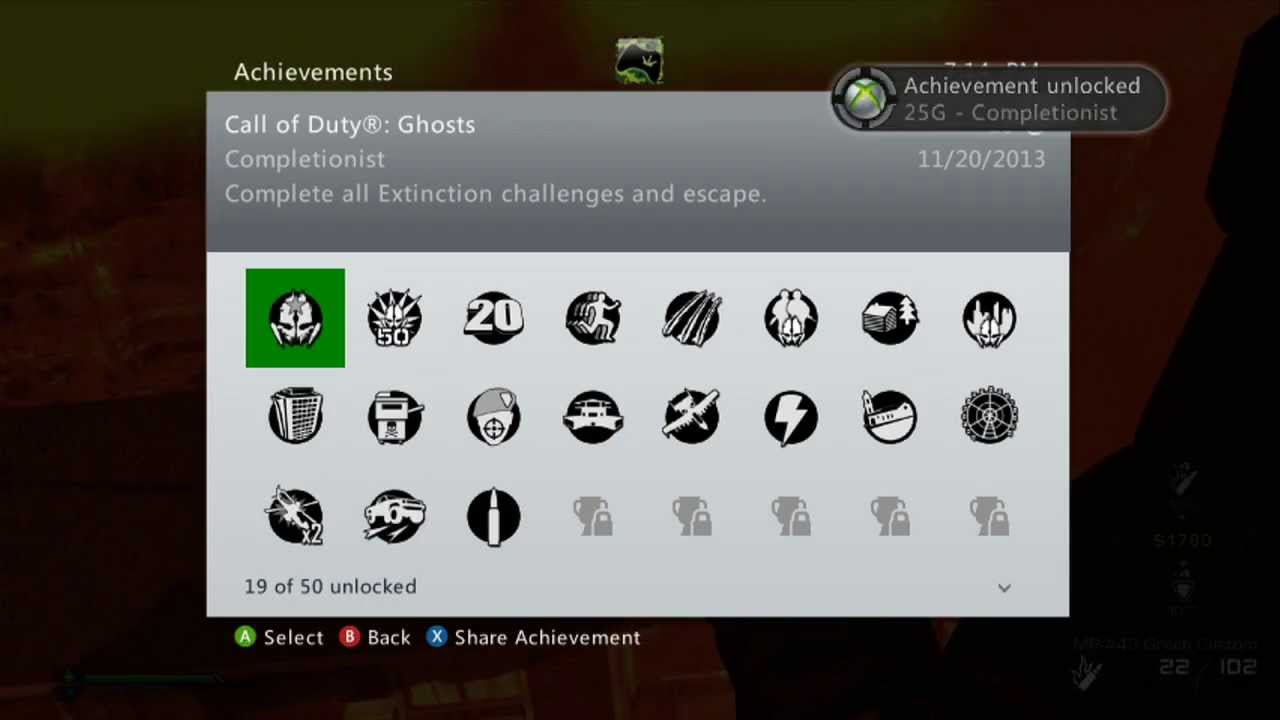 Call of Duty Ghosts - Extinction Secret Achievement ...