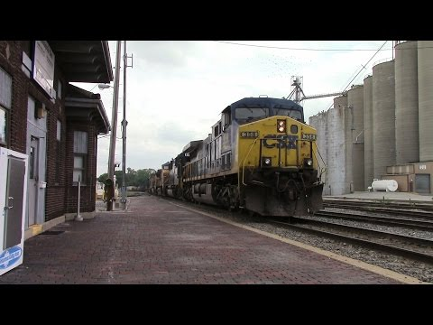 Trains Around Connersville, IN on June 22nd and 29th