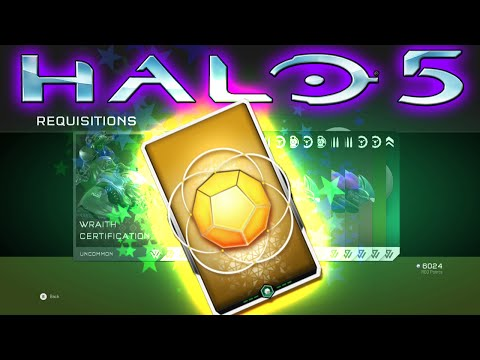 MY FIRST LEGENDARY!!! - Halo 5: Guardians REQ PACK Opening #2