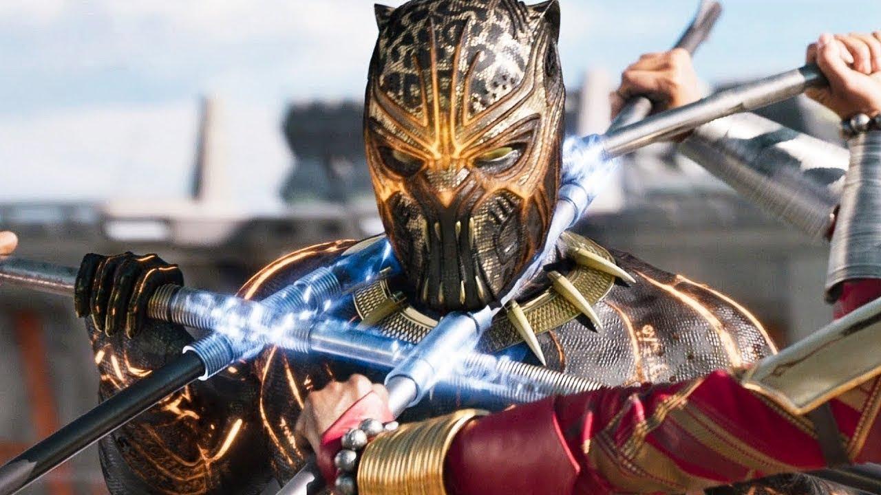 Download Black Panther Vs Killmonger   Final Battle   Fight Scene   Black Panther 2018 Movie CLIP HD