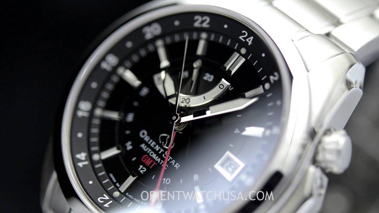 Orient Star SDJ00001B0 DJ00001B Seeker GMT Watch - YouTube