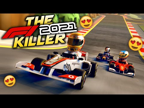 PLAYING THE BEST F1 GAME OF ALL TIME! - The F1 2021 Game Killer!  