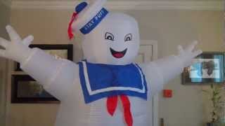 The 8-Foot Tall Inflatable Stay Puft Marshmallow Man!