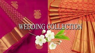 Bridal Collection Wedding Silk Sarees | 50 Gorgeous Designer Bridal Silk Sarees | Wedding Receiption