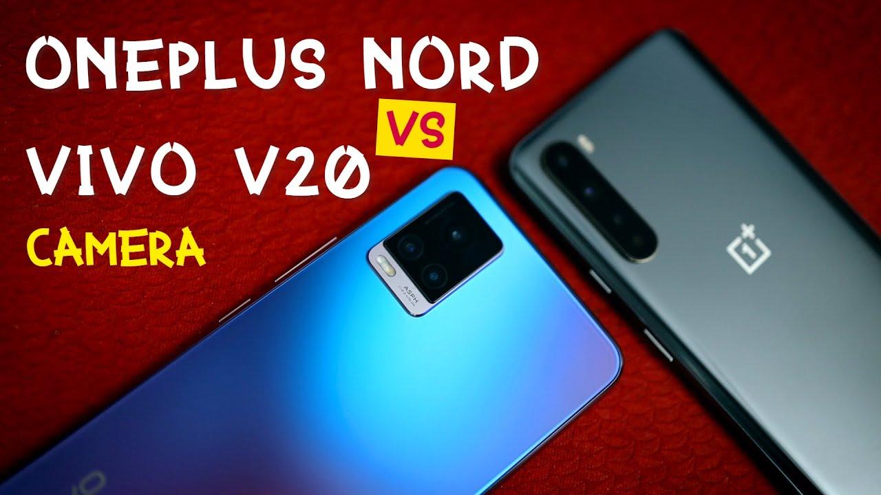 Vivo V20 vs OnePlus NORD Camera Comparison