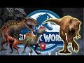 Full Unique Team VS. One Chompy Boi- Jurassic World Alive Fan Battles 5