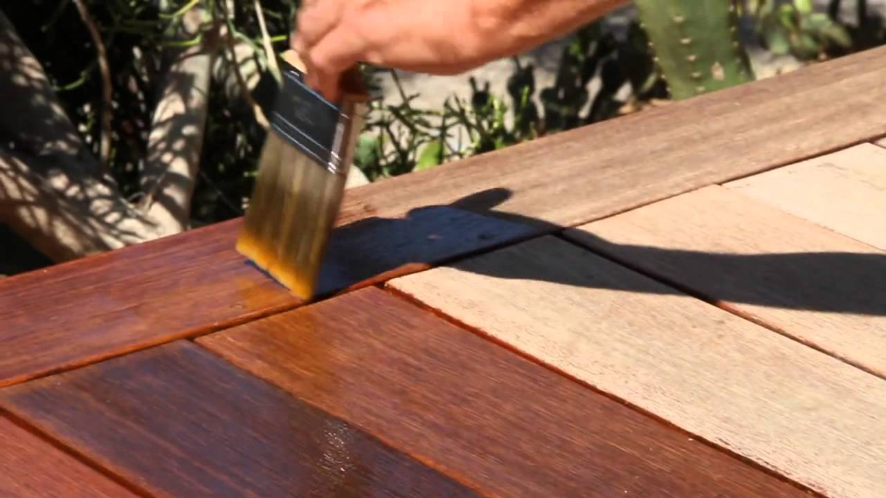 How To Apply Penofin Hardwood Oil Stain Youtube