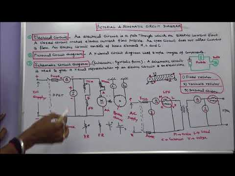 ELECTRICAL DIAGRAMS PART – 02 - DIFFERENCE BETWEEN PICTORIAL AND SCHEMATIC DIAGRAM thumbnail