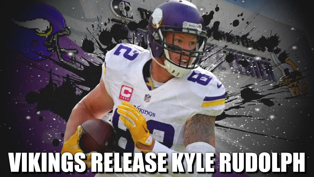 Minnesota Vikings release TE Kyle Rudolph after 10 seasons