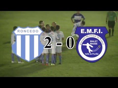 Segundo Tiempo de Lautaro Roncedo y EMFI, aquí los goles.