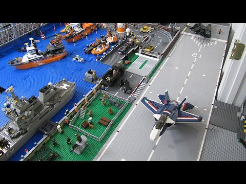 Lego Joint Military Base and Coast Guard - YouTube
