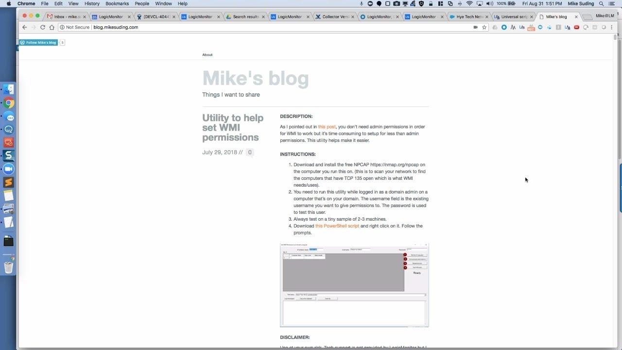LogicMonitor // Mike's blog