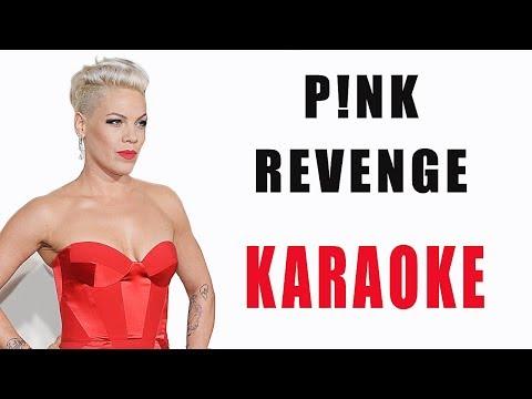 Pink - REVENGE feat. Eminem [ INSTRUMENTAL / KARAOKE ] + Lyrics