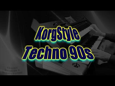 KorgStyle  -Techno 90s (Korg Krome, Pa 900) 2019 New