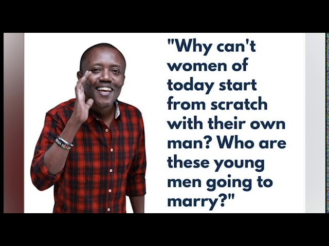 Maina kageni: Ladies, Is there time to start from scratch? #MainaAndKingangi