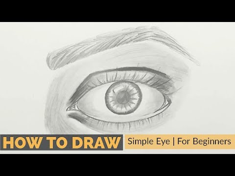 How To Draw Realistic Eye   Beginners
