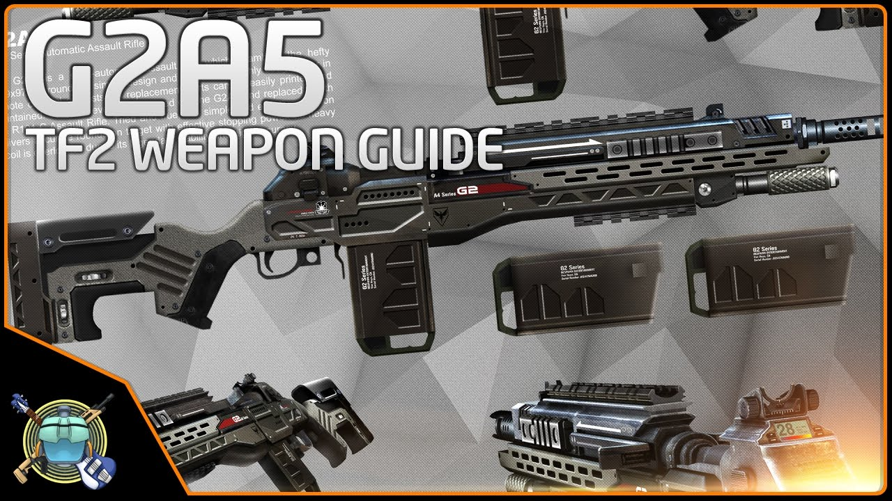 Titanfall 2 Weapon Guide - G2A5 Assault Rifle - YouTube