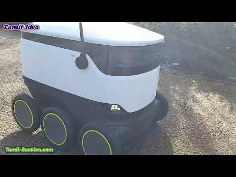 Delivery robots|UK Milton Keynes|delivery robots london|delivery robots video|Tamilidea