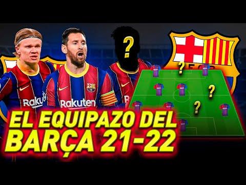 ASÍ SERÁ EL FC BARCELONA DE LA TEMPORADA 2021/22
