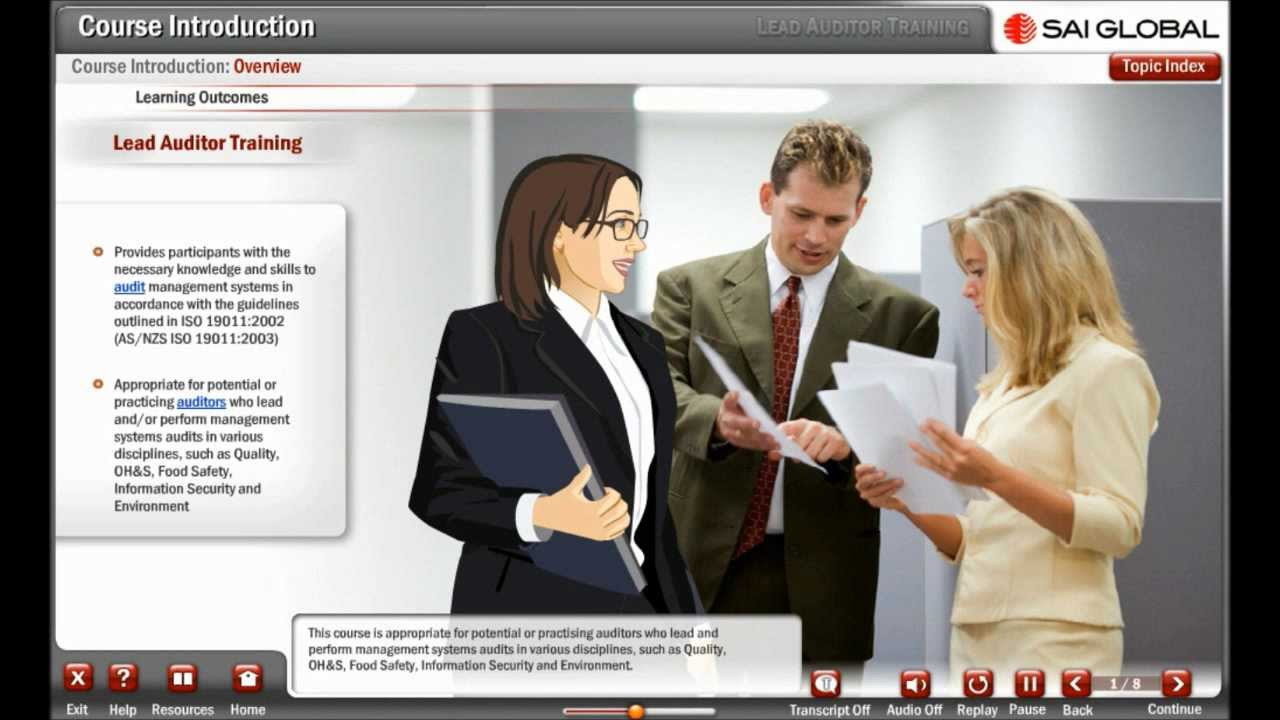 FREE DEMO: Lead Auditor Training