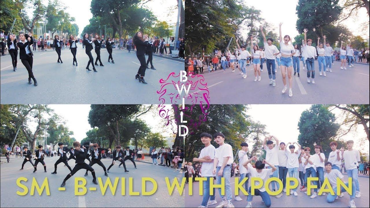 [KPOP IN PUBLIC] SM - B-Wild With Kpop Fan(SNSD, EXO, DBSK, NCT, Red Velvet, F(x), Suju, Shinee) VN