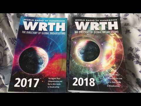 A quick review of the WRTH 2018 edition...DXers and SWLs should buy this book!